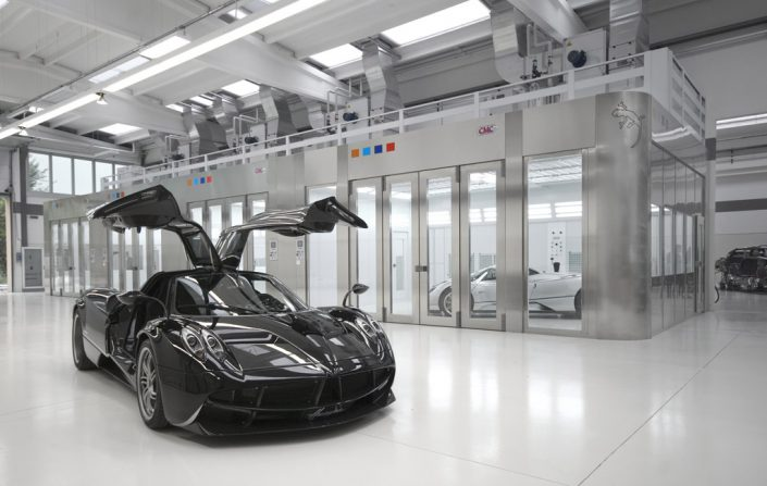 Preparation Booth @ Pagani Factory