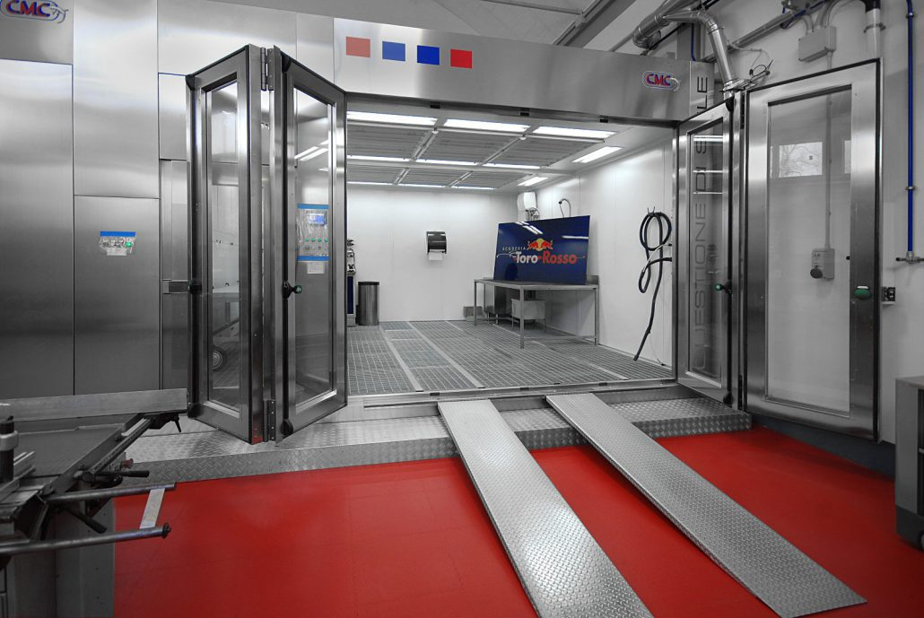 Automotive Spray Booth Formula 1 CMC Italy Toro Rosso