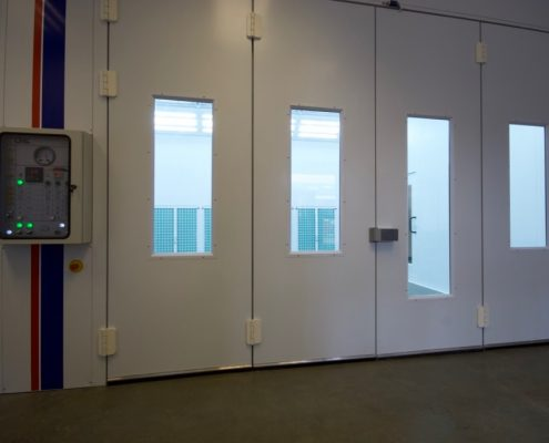 Industrial Spray Booth Eurotecno