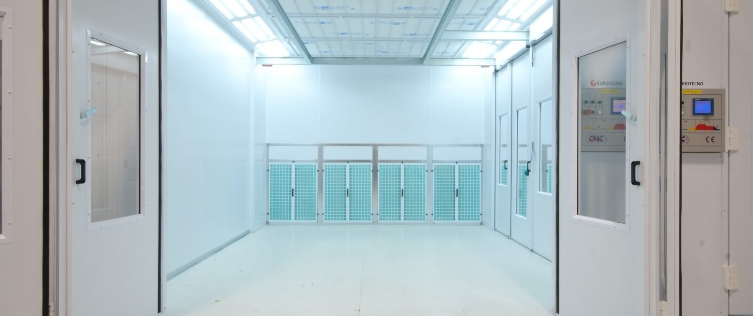 Industrial Spray Booth by Eurotecno