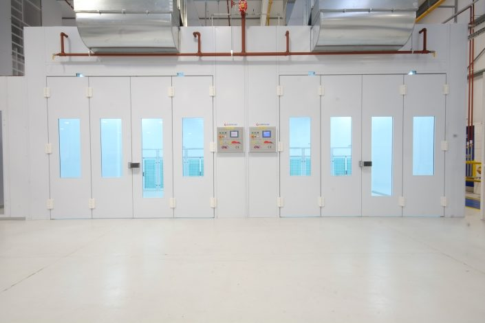 Eurotecno Custom Industrial Spray Booth