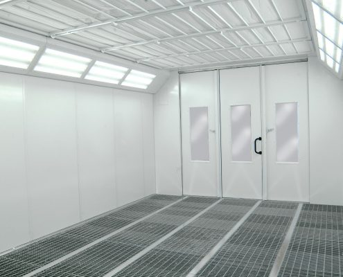 CMC Piper Spray booth | Automotive Spray Booth