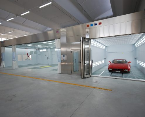 CMC Stealth Automotive Spray Booth