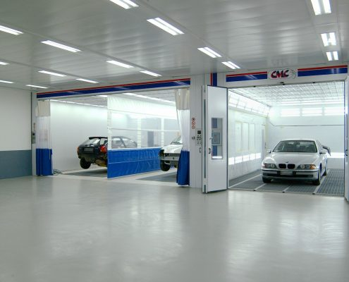 CMC Stealth Automotive Spray Booths