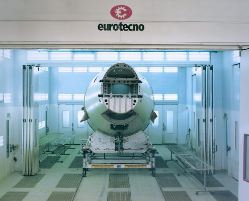 Eurotecno Aerospace Spray Booth | BAe