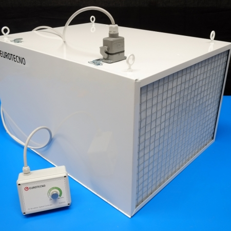 Eurotecno EAS300 Air Scrubber | 3000 m³/h workshop air filtration system