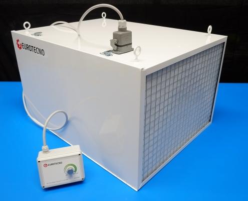 Eurotecno EAS300 Air Scrubber | 3000 m³/h workshop air filtration system