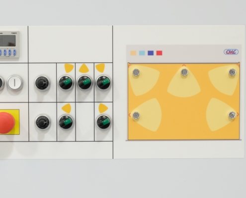 infrared curing control panel