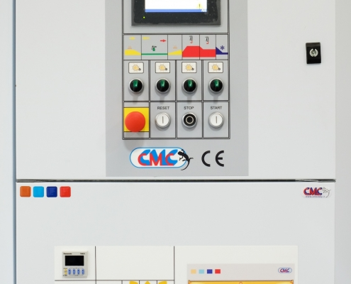 Infrared and PLC control panels
