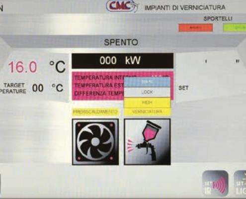 Raptor Control Panel Screen